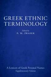 Greek Ethnic Terminology$